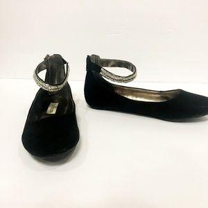 21fef552309 Steve Madden Shoes - Steve Madden Girls Jzilerp Velvet Sequin Flats
